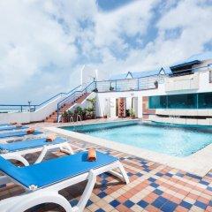 Отель Calypso Beach Колумбия, Сан-Андрес - отзывы, цены и фото номеров - забронировать отель Calypso Beach онлайн бассейн фото 3