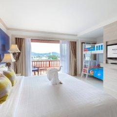 Отель Novotel Phuket Resort 4* Семейный номер Делюкс с двуспальной кроватью фото 4