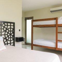 Отель Sayab Hostel Мексика, Плая-дель-Кармен - отзывы, цены и фото номеров - забронировать отель Sayab Hostel онлайн удобства в номере фото 2