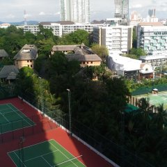 Апартаменты Sky Beach Apartment Паттайя спортивное сооружение