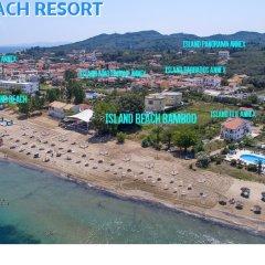 Отель Island Beach Resort - Adults Only пляж