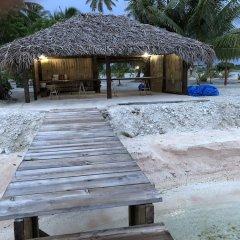 Отель Hakamanu Lodge пляж