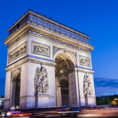 Отель Ampère Франция, Париж - отзывы, цены и фото номеров - забронировать отель Ampère онлайн вид на фасад