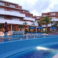 Отель Sunset Fishermen Beach Resort Плая-дель-Кармен детские мероприятия