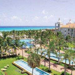 Отель Riu Palace Riviera Maya Плая-дель-Кармен пляж