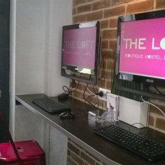The Loft Boutique Hostel & Hotel интерьер отеля