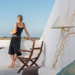 Отель Mediterranean White Остров Санторини балкон