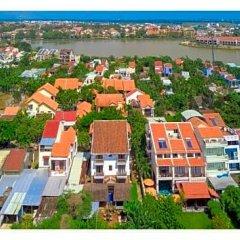 Отель Golden Peach Villa Hoi An пляж фото 2