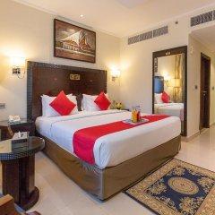 Smana Hotel Al Raffa Дубай комната для гостей