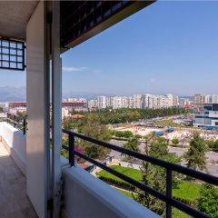 Rixos Downtown Antalya Турция, Анталья - 7 отзывов об отеле, цены и фото номеров - забронировать отель Rixos Downtown Antalya онлайн балкон