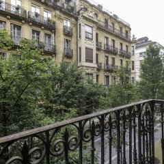 Апартаменты SanSebastianForYou Cathedral Apartment балкон