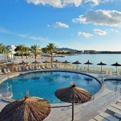 Отель Alua Hawaii Ibiza Испания, Сан-Антони-де-Портмань - отзывы, цены и фото номеров - забронировать отель Alua Hawaii Ibiza онлайн бассейн фото 3