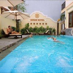 Отель Kiman Hotel Вьетнам, Хойан - отзывы, цены и фото номеров - забронировать отель Kiman Hotel онлайн бассейн фото 2