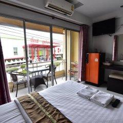 Отель Ck Residence Паттайя балкон