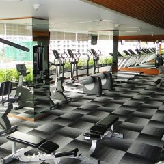 Отель Fraser Suites Sukhumvit, Bangkok Таиланд, Бангкок - отзывы, цены и фото номеров - забронировать отель Fraser Suites Sukhumvit, Bangkok онлайн фитнесс-зал фото 4