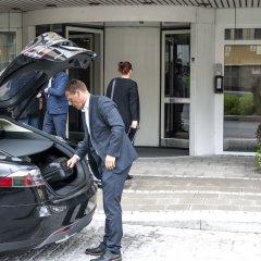 Отель Scandic City Fredrikstad Фредрикстад парковка