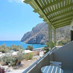 Отель Studios Marios Греция, Остров Санторини - отзывы, цены и фото номеров - забронировать отель Studios Marios онлайн балкон