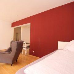 Апартаменты Boutique Apartments Leipzig комната для гостей фото 4