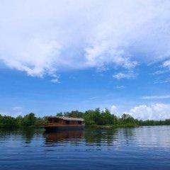 Отель Dedduwa Boat House Шри-Ланка, Бентота - отзывы, цены и фото номеров - забронировать отель Dedduwa Boat House онлайн приотельная территория фото 2