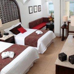 Отель GR Caribe Deluxe By Solaris - Все включено Мексика, Канкун - 8 отзывов об отеле, цены и фото номеров - забронировать отель GR Caribe Deluxe By Solaris - Все включено онлайн комната для гостей фото 2