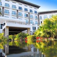Отель Golden Bay Resort Сямынь приотельная территория