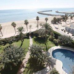 Отель Prestige Victoria Hotel Испания, Курорт Росес - 1 отзыв об отеле, цены и фото номеров - забронировать отель Prestige Victoria Hotel онлайн пляж