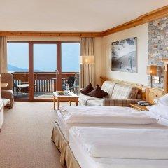 Hotel Chalet Mirabell Авеленго комната для гостей фото 5