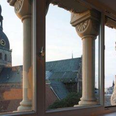Neiburgs Hotel Рига балкон