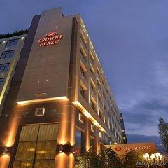 Отель Crowne Plaza Athens City Centre Греция, Афины - 5 отзывов об отеле, цены и фото номеров - забронировать отель Crowne Plaza Athens City Centre онлайн вид на фасад