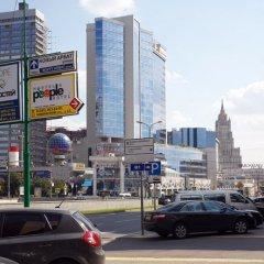 Отель People Business Novinsky Москва парковка