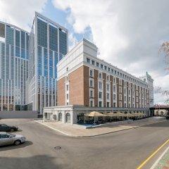 Отель Холидей Инн Уфа парковка
