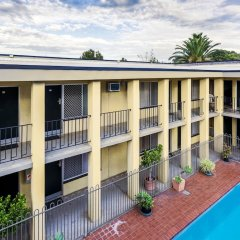 Отель Scottys Motel балкон