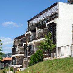 Отель Dolce Vita Aparthotel Свети Влас вид на фасад