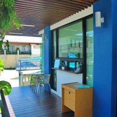 Отель Riski Residence Bangkok-Noi балкон