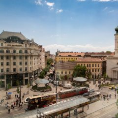 Mercure Budapest Korona Hotel Будапешт балкон