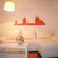 Отель A-partment -Mediapark Германия, Кёльн - отзывы, цены и фото номеров - забронировать отель A-partment -Mediapark онлайн комната для гостей фото 3