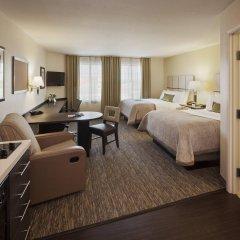 Отель Candlewood Suites Bay City удобства в номере