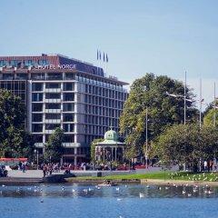 Отель Norge By Scandic Берген приотельная территория фото 2