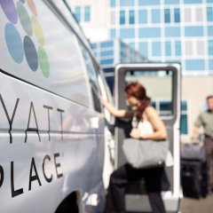 Отель Hyatt Place Columbus Dublin городской автобус