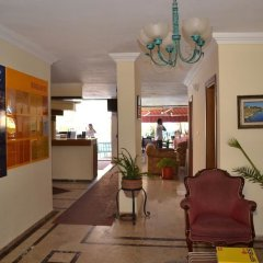 Begonville Apart Hotel Сиде интерьер отеля