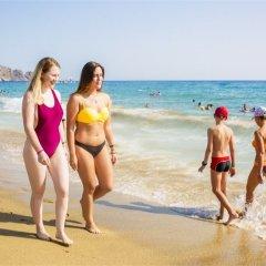 Kleopatra Arsi Hotel Турция, Аланья - 4 отзыва об отеле, цены и фото номеров - забронировать отель Kleopatra Arsi Hotel онлайн пляж фото 2