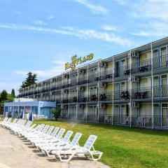 Отель Continental - Happy Land Hotel Болгария, Солнечный берег - отзывы, цены и фото номеров - забронировать отель Continental - Happy Land Hotel онлайн пляж