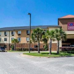Отель Comfort Suites Saraland парковка