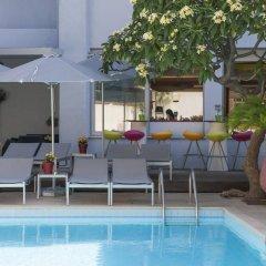 Отель Aquamare Hotel Греция, Родос - отзывы, цены и фото номеров - забронировать отель Aquamare Hotel онлайн бассейн фото 2