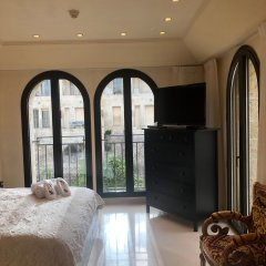 Mamilla's Penthouse Израиль, Иерусалим - отзывы, цены и фото номеров - забронировать отель Mamilla's Penthouse онлайн комната для гостей фото 4