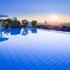 Отель Mandarin Oriental, Munich Германия, Мюнхен - 7 отзывов об отеле, цены и фото номеров - забронировать отель Mandarin Oriental, Munich онлайн бассейн фото 2