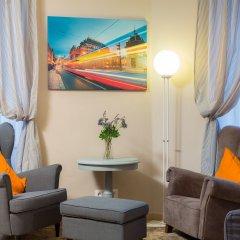 Отель Le Petit Hotel Prague Чехия, Прага - 9 отзывов об отеле, цены и фото номеров - забронировать отель Le Petit Hotel Prague онлайн комната для гостей фото 3