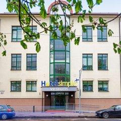 Отель Simple Plus Литва, Вильнюс - отзывы, цены и фото номеров - забронировать отель Simple Plus онлайн парковка