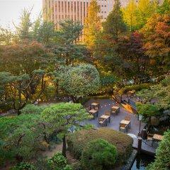 Отель Millennium Hilton Seoul Южная Корея, Сеул - 1 отзыв об отеле, цены и фото номеров - забронировать отель Millennium Hilton Seoul онлайн фитнесс-зал