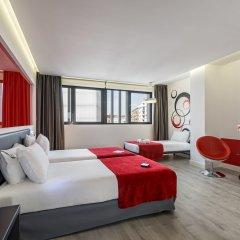 Hotel Eurostars Central комната для гостей